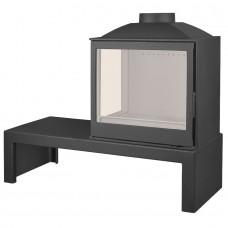 Печь LCI 5 GFL Table, стекло слева (Liseo Castiron)