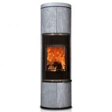 Печь Zion, черная/serpentino, с накопит. камнем (Concept Feuer)
