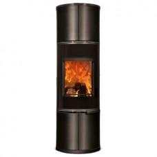 Печь Zion, черная/керамика черный матовый (Concept Feuer)