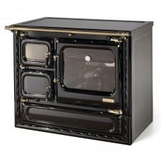 Печь-плита Deva II 100 N H, гидроконтур, стеклокер., латунь (Hergom)