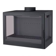Топка LCI 007 GFLR Flat top, два боковых стекла (Liseo Castiron)