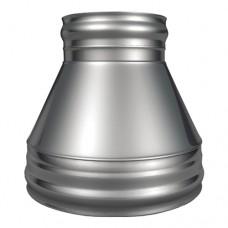 Конус КТ-Р 304, 0,5/304, 0,5 d 120/220 с хомутом на замке