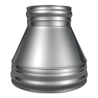 Конус КТ-Р 304, 0,5/304, 0,5 d 150/250 с хомутом на замке
