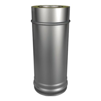 Труба ТТ-Р L 1000 304, 0,5/304, 0,5 d 150/250 с хомутом на замке
