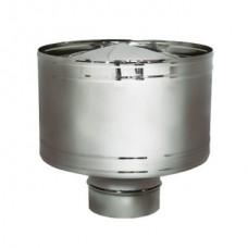 Дефлектор на расш. DHR d104, зерк. (Вулкан)